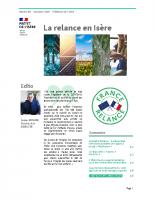 Lettre La relance en Isère no2
