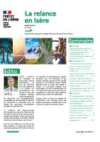 Lettre de la relance en Isère n°8